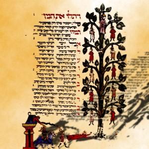 Haman-Manuscript-Hanging